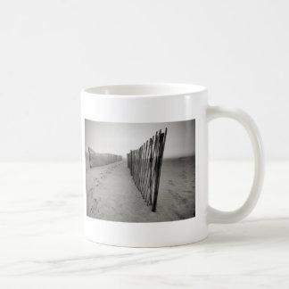 Sand Fence Classic White Coffee Mug
