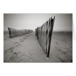 Sand Fence Greeting Card