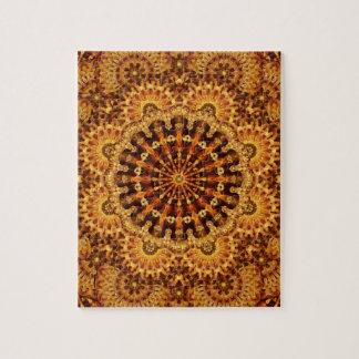 Sand & Flame Mandala Puzzles