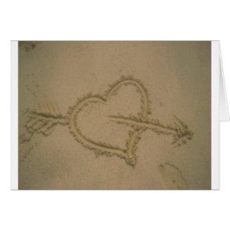 Sand Heart Cards