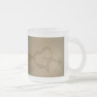 Sand Heart Mug