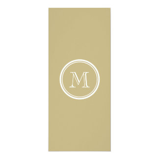 Sand High End Colored Personalized 4x9.25 Paper Invitation Card