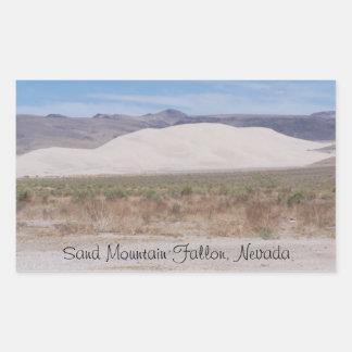 Sand Mountain Fallon, Nevada Sticker
