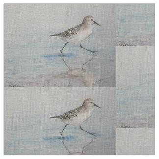 Sand Piper Bird Art Fabric