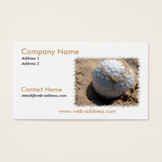 Sand Pit Business Card
