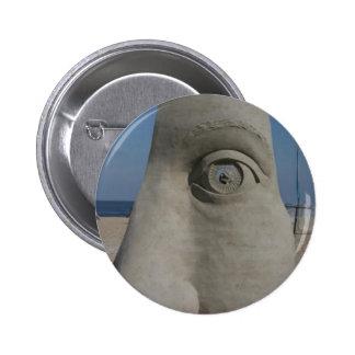 sand sculpture 2 inch round button