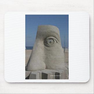 sand sculpture mouse pad