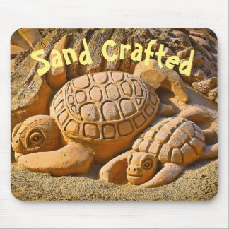Sand Sea Turtle Mouse Pad