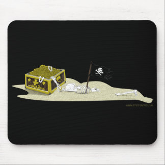 Sand Skeleton Mouse Pad