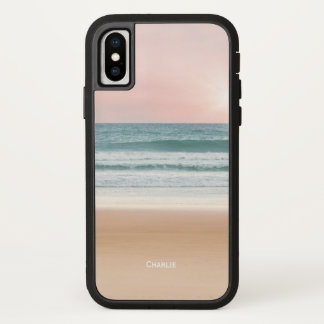Sand, Sky, and Sea. Personalise. iPhone X Case