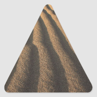 sand triangle sticker