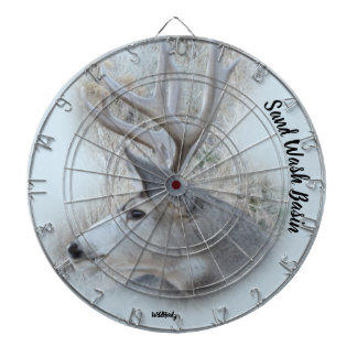 Sand Wash Basin Deer Dart Board
