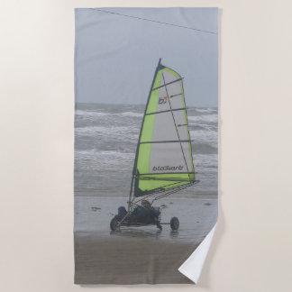 Sand Yachting Beach Towel