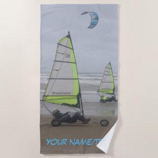 Sand Yachting Cust. Beach Towel