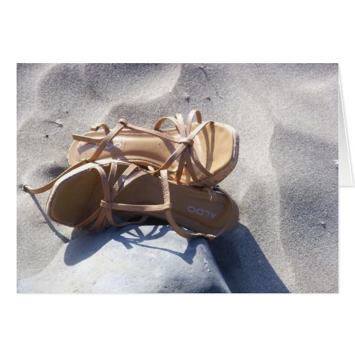 Sandals in the Sand Cards