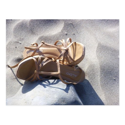 Sandals in the Sand Post Cards