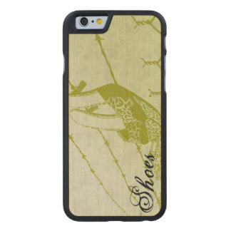 Sandals On A Wire Carved® Maple iPhone 6 Slim Case