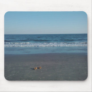 Sandals On the Beach Mousepad