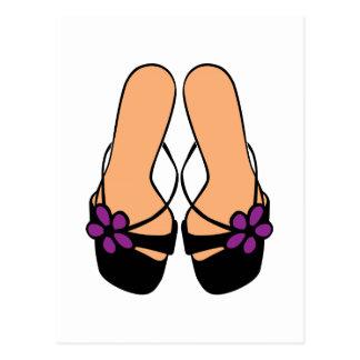 Sandals Postcard