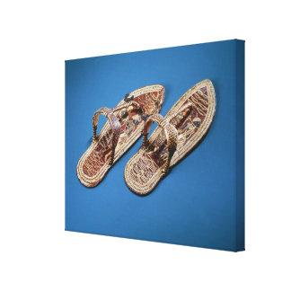 Sandals, Tomb of Tutankhamun, New Kingdom Stretched Canvas Prints