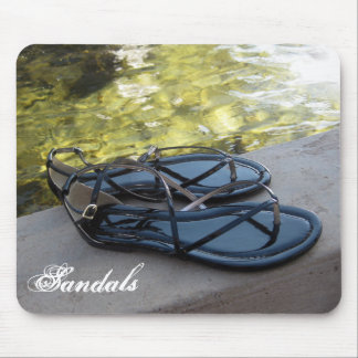 Sandals & Water Mouse Pad