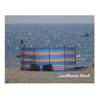 SandBanks Beach Postcard