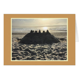 Sandcastle at the Outer Banks Card