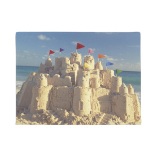 Sandcastle On Beach Doormat