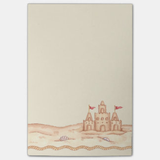 Sandcastle Post-it® Notes