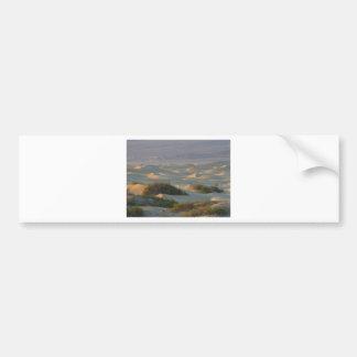 Sanddunes Deserts Death Valley Bumper Sticker