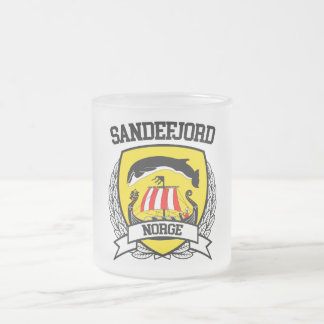 Sandefjord Frosted Glass Coffee Mug