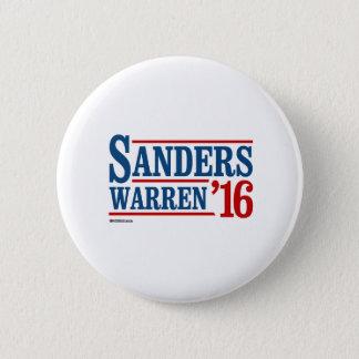 Sanders Warren 2016 2 Inch Round Button