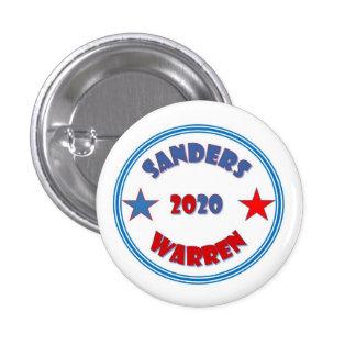Sanders Warren 2020 (button) 1 Inch Round Button