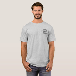 Sandfly Georgia Mens Grey T-shirt