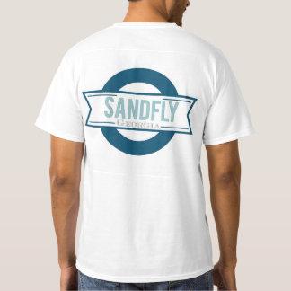 Sandfly Georgia Mens White Value T-shirt