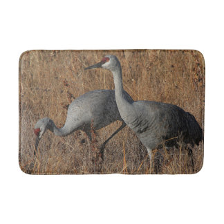 Sandhill Crane Birds Wildlife Animals Bath Mat
