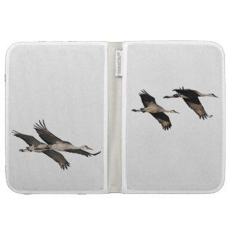 Sandhill Crane Birds Wildlife Animals Cases For The Kindle