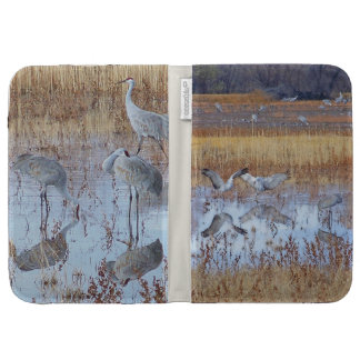 Sandhill Crane Birds Wildlife Animals Kindle Folio Case