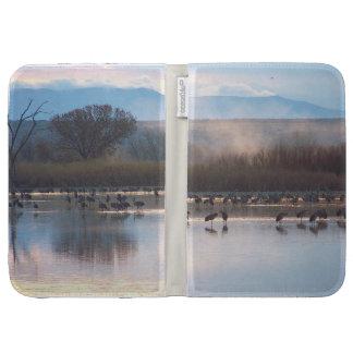 Sandhill Crane Birds Wildlife Animals Kindle Keyboard Cases