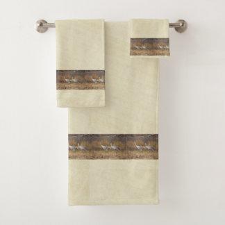 Sandhill Crane Birds Wildlife NWR Bath Towel Set