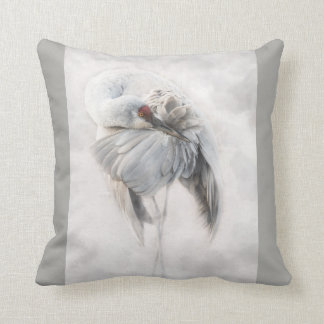 Sandhill Crane Pillow