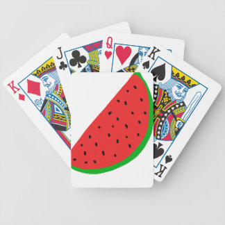 sandia bicycle playing cards