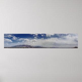 Sandia Mountains Panoramic Poster