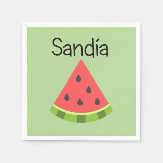 Sandia (Watermelon) Disposable Napkins