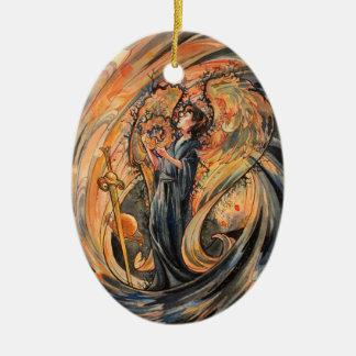 Sandolphon Ceramic Ornament