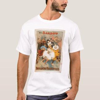 Sandow Trocadero Vaudevilles Carnival Theme T-Shirt