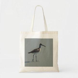 Sandpiper Pose Tote Bag