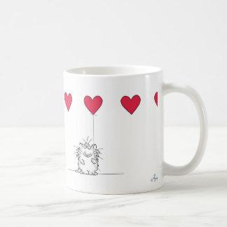 Sandra Boynton LOVE YOU CAT Basic White Mug