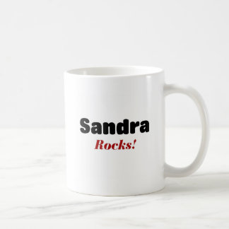 Sandra Rocks Coffee Mug
