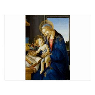 Sandro Botticelli - la Vierge et l'enfant Cartes Postales